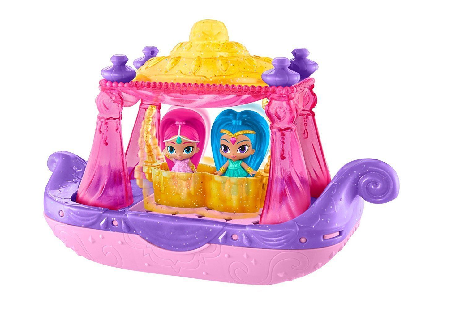 Shimmer And Shine Swing Amp Splash Genie Boat Playset